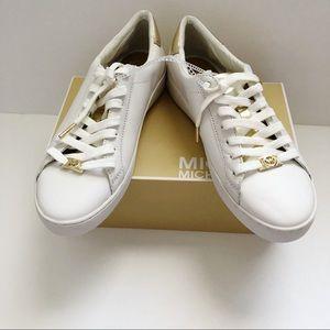 Michael Kors Jet Set Irving Shoes 9.5 white gold